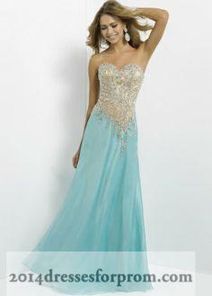 Aqua Nude Sparkly Top Long Prom Dresses Blush 9743
