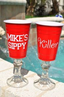 Thank you Toby Keith for helping people recognize the significance of the Red Solo Cup!  These are awesome!