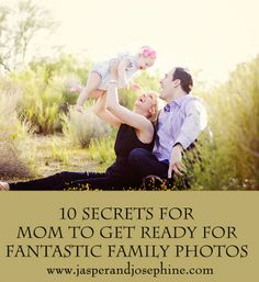 Mom Tips for Family Photos