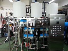 DHRO-30 (Reverse Osmosis Water Purification Plant) - Component : MF+CF+RO Size : 1930 * 850 * 1900 Power : 380V three phases Reverse Osmosis Water, Water Purification, Plants, Water Filter, Plant, Planting, Planets