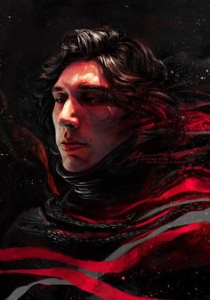 I'm not crazy about Kylo Ren but this is a good picture of him.