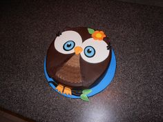 how to make a owl cake - Google Search