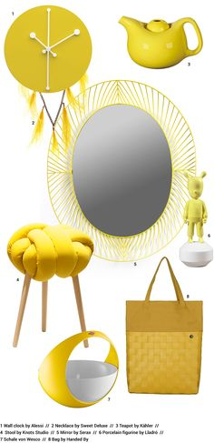 Ambiente: Design yellow trend: Handed By Soft Bag
