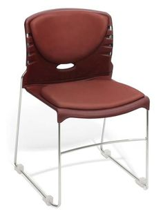 OFM - Vinyl Seat & Back Stack Chair | Sale Price: $99.85