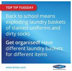 Get organised now!