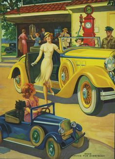 Service for Everybody by Charles Relyea - Vintage Art Deco Posters Gallery at I Desire Vintage Posters