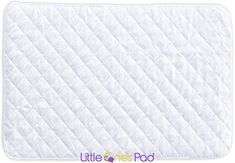 Little One's Pad Pack N Play Crib Mattress Cover – 27″ X 39″ – Fits Most Baby Portable Cribs, Play Yards and Foldable Mattresses – Waterproof, Dryer Safe – Comfy and Soft Fitted Crib Protector – Brians Bedding Pack And Play Mattress, Pack And Play Crib, Best Crib Mattress, Pack N Play, Mattress Pad, Mattress Covers, Foam Mattress, Crib Protector, Portable Crib