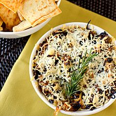 went a little nuts with the dip recipies...but how good does this baked asiago and caramelized onion hummus dip look!