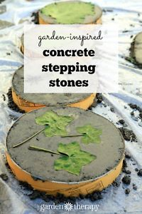 These stepping stones are a true reflection of your garden when imprinted with leaves from the surrounding plants! These can be made in an afternoon and cost less than $2 each in materials, making them...