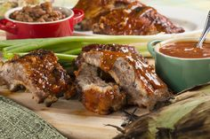 T.L.C. Barbecued Ribs | No tomato sauce | Starts in Oven @ 300 deg