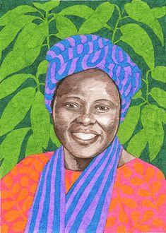 Wangari Maathai by Alison Kolesar