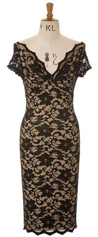 This listing is for a beautiful short sleeve POLLY TWIST dress in classic French lace in Black over Nude POLLY- Fitted wriggle dress with a Low Cut Dresses, Formal Dresses, Wiggle Dress, French Lace, Evening Dresses, Bodycon Dress, Style Inspiration, Fashion Outfits, My Style