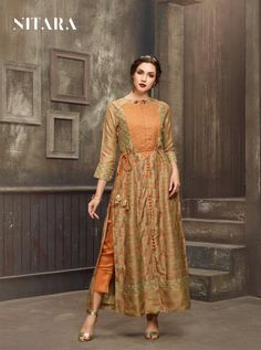 NITARA D.NO.-3201 RATE : 1595 - SAIRA BY NITARA 3201 TO 3207 SERIES  BEAUTIFUL COLORFUL STYLISH FANCY CASUAL WEAR & ETHNIC WEAR & READY TO WEAR MUSLIN KURTIS AT WHOLESALE PRICE AT DSTYLE ICON FASHION CONTACT: +917698955723 - DStyle Icon Fashion Icon Fashion, Kurtis, Casual Wear, Style Icons, Ethnic, Ready To Wear, Fancy, Colorful, Stylish