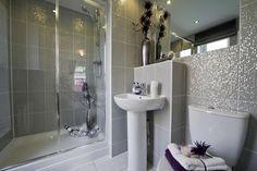 Gold & Sparkly Bathroom