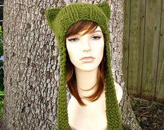 womens knit hat patterns free - Google Search