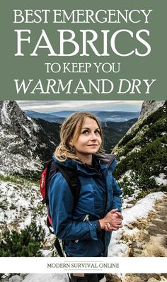 When dressing for extended survival situations, particularly in the outdoors, some fabrics are better than others. Here are the best ones, and the ones to stay away from. #SHTF #preppers #outdoors #emergency