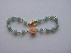the crafter the merrier: vintage flower bracelet