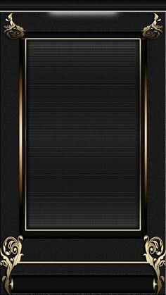Sleek Black and Gold Wallpaper