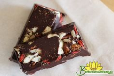 Barrinhas de Chocolate Nutritivas