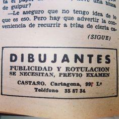 Era 1956 y se buscaban los creativos publicitarios de la época #centrodedocumentacionpublicitaria #lottussecuidalapublicidad #lahistoriadelapublicidad