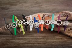 Peace & Smiley Rings