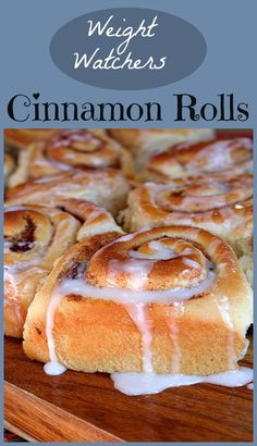 Weight Watcher's Cinnamon Rolls- so good! 5 Points Plus, nutritional information included.
