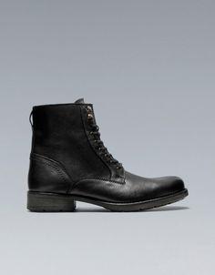 *¬* I love it and want it!!!! BOTA MINA - Zapatos - Hombre - ZARA
