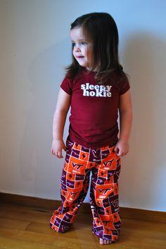 PJs for Little Hokies....adorable!