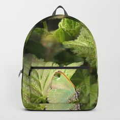 """Our Backpacks are crafted with spun poly fabric for durability and high print quality. Thoughtful details include double zipper enclosures, padded nylon back and bottom, interior laptop pocket (fits up to 15""""), adjustable shoulder straps and front pocket for accessories. Dry clean or spot clean only. One unisex size: 17.75""""(H) x 12.25""""(W) x 5.75""""(D)."""