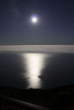 Night, Post Ranch Inn, Big Sur, California