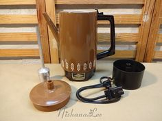 Vintage 9 Cup West Bend Electric Automatic by DebbiesDabblings