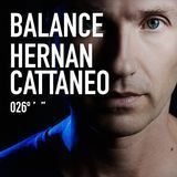 Balance 026: Mixed by Hernan Cattaneo [CD]
