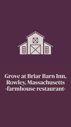 Farmhouse Restaurant, Rural Retreats, Farmhouse Chic, Restaurant Design, Massachusetts, New England, Road Trip, Barn, Converted Barn