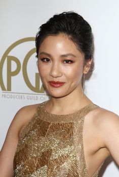 Golden Lady Constance Wu At Annual Producers Guild Awards In Bevrly Hills - Top 10 Ranker Girl Celebrities, Celebs, Hollywood Actresses, Actors & Actresses, Constance Wu, Celebrity Women, Beautiful Asian Women, Hottest Photos, Female Models