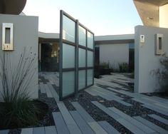 Modern Beach Vision - modern - landscape - san luis obispo - by Jeffrey Gordon Smith Landscape Architecture Modern Landscape Lighting, Modern Landscape Design, Modern Garden Design, Contemporary Garden, Modern Landscaping, Landscape Architecture, Contemporary Homes, Modern Design, Tor Design
