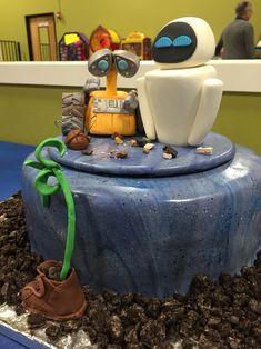 Wall-E Eve Cake Pixar