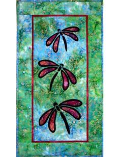 Image detail for -... , dragonflies, fusible applique, quilt pattern, Castilleja Cotton