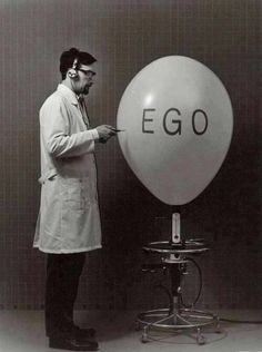An inflated ego causes us pain, it causes us suffering including to those around us. It is when the ego truly believes it is the centre of the universe this occurs. Ju Jitsu, Vaporwave, White Photography, Vincent Van Gogh, Just In Case, Mindfulness, Black And White, Feelings, Cool Stuff