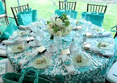 The 30th Annual Frederick Law  Olmsted Awards Luncheon - Guests were treated to a delectable three-course lunch and specially designed totes in Tiffany Blue.