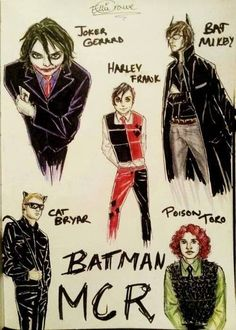 My Chemical Romance Batman