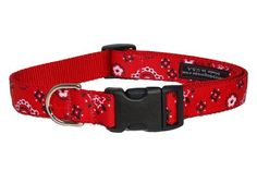 Sassy Dog Wear 13-20-Inch Red Bandana Dog Collar, Medium - http://www.thepuppy.org/sassy-dog-wear-13-20-inch-red-bandana-dog-collar-medium/