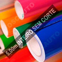Adesivo Decorativo Envelopamento Geladeira Móveis - 5 Metros - R$ 40,00
