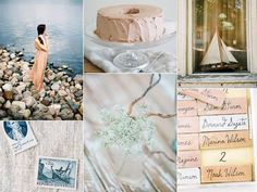 2014 Ocean wedding colors and themes | The zodiac wedding series today continues with an ocean themed wedding ...