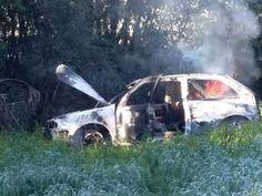 Cinco corpos carbonizados são encontrados em veículo incendiado