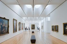 """Dwell magazine article about NCMA West Building architect: """"Thomas Phifer: Light on the Subject"""" (March Boulder House, Retreat House, Corning Museum Of Glass, Photography Gallery, Interior Lighting, Art Museum, Interior Architecture, Art Gallery, North Carolina"""