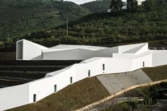 Complex Modern Architecture: Rowing High Performance Centre in Portugal - http://freshome.com/2014/02/11/complex-modern-architecture-rowing-high-performance-centre-portugal/