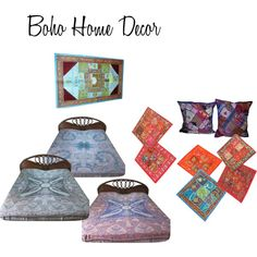 """Boho Home Decor"" by mogulinteriordesigns on Polyvore"