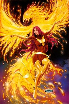Dark Phoenix by mikerenzine on DeviantArt Dark Phoenix, Phoenix Marvel, Jean Grey Phoenix, Phoenix Force, Phoenix Rising, Marvel Women, Marvel Girls, Comics Girls, Marvel Females