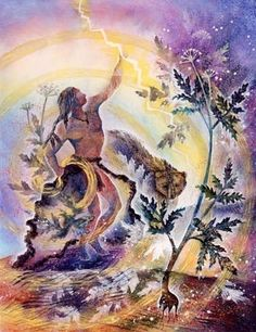 You are strong enough to gain wisdom from a challenging experience. http://innerspiritrhythm.com/ The Visionary Art of Willow Arlenea