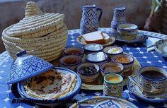 Un bon petit déjeuner Marocain!!!!!